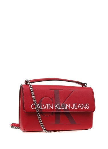 Calvin Klein Clutch / El Çantası Bordo